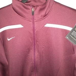 Nike dri athletic training jacket size men medium